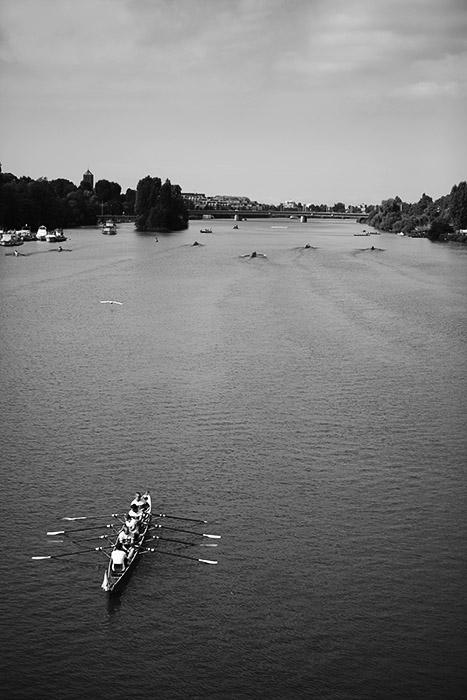 Blick von der Theodor-Heuss-Brücke