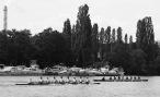 Deutschland-Achter bei der Aufholjagd gegen Cambridge