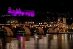 Schlossbeleuchtung zum Welt-Frühchen-Tag (17.11.)